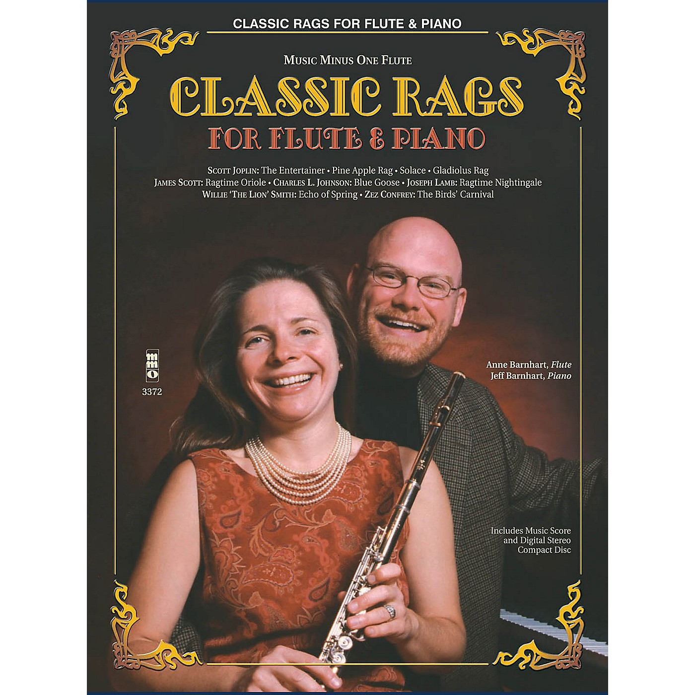Music Minus One Classic Rags for Flute and Piano (Music Minus One Flute) Music Minus One Series Softcover with CD thumbnail