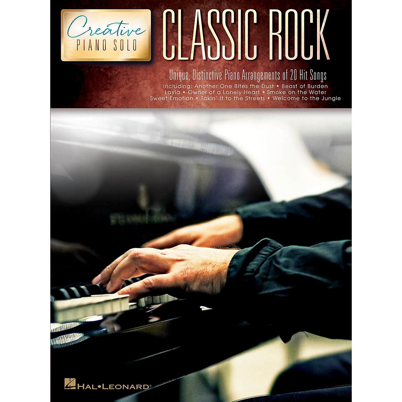 Hal Leonard Classic Rock - Creative Piano Solo Songbook thumbnail