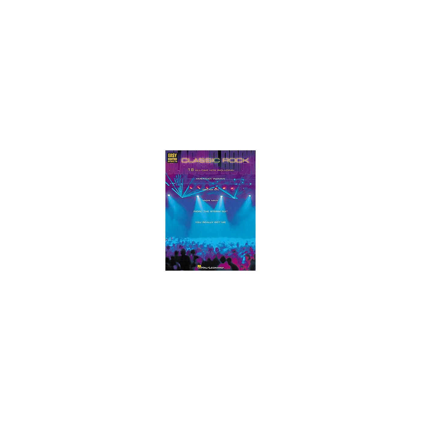 Hal Leonard Classic Rock Book thumbnail