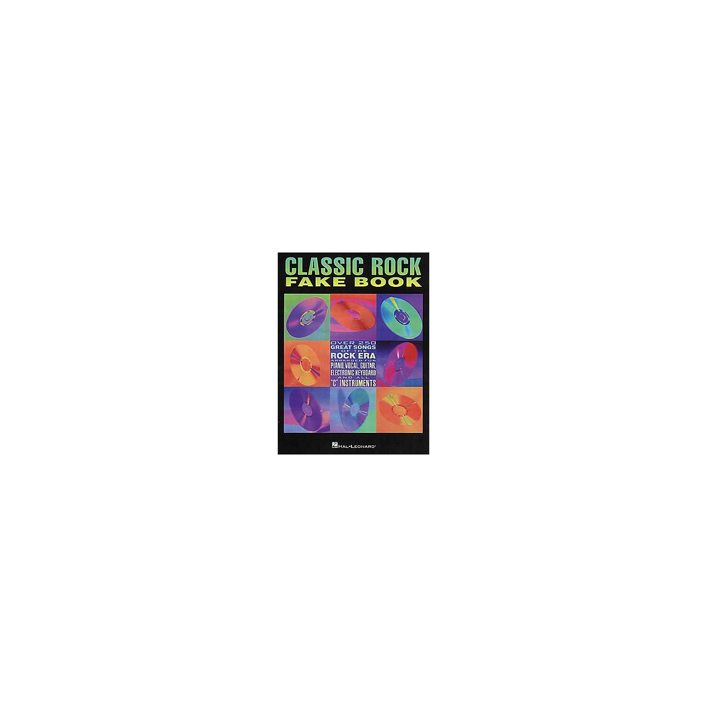 Hal Leonard Classic Rock Fake Book thumbnail