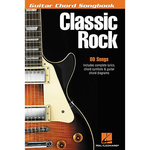 Hal Leonard Classic Rock Guitar Chord Songbook thumbnail
