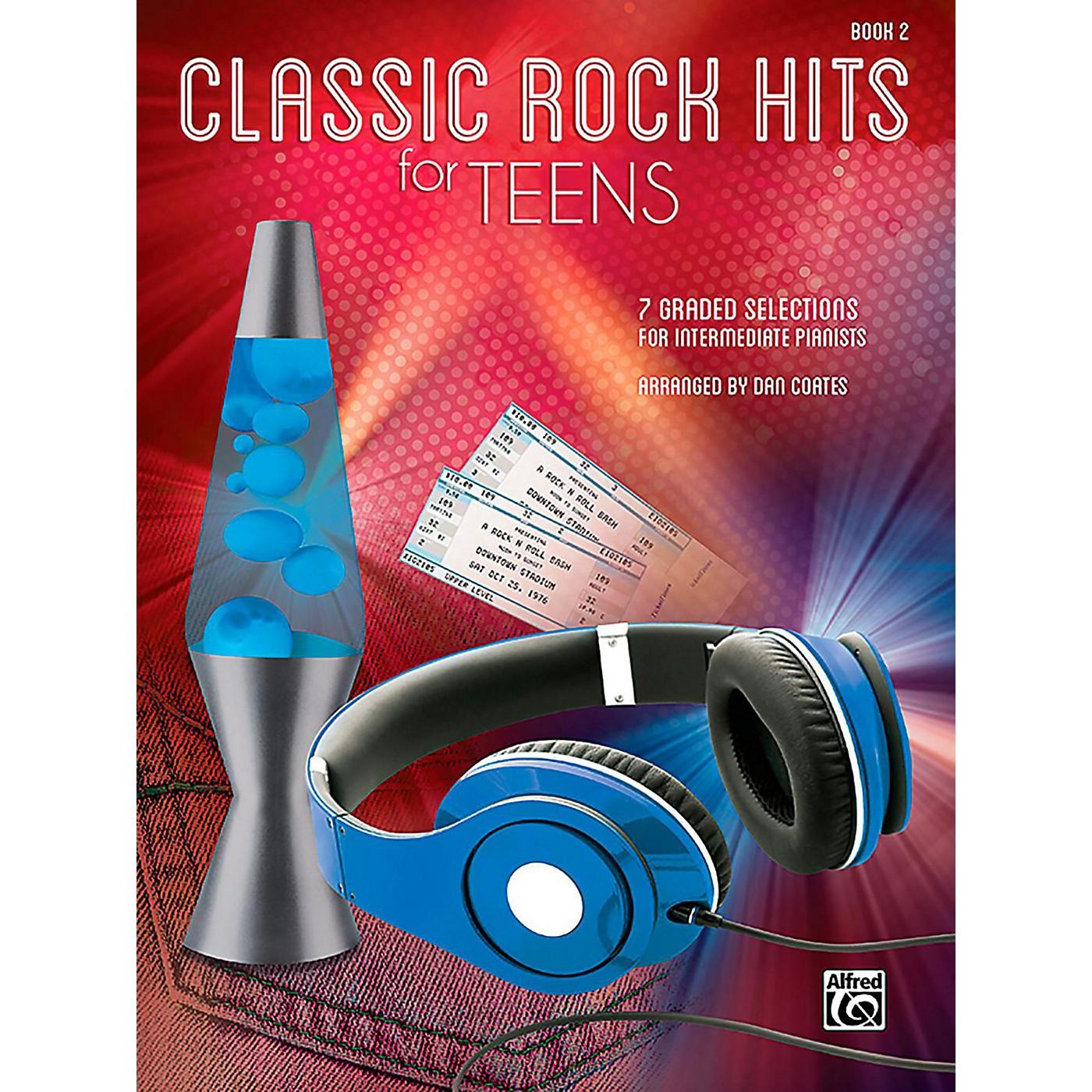 Alfred Classic Rock Hits for Teens, Book 2 Intermediate thumbnail