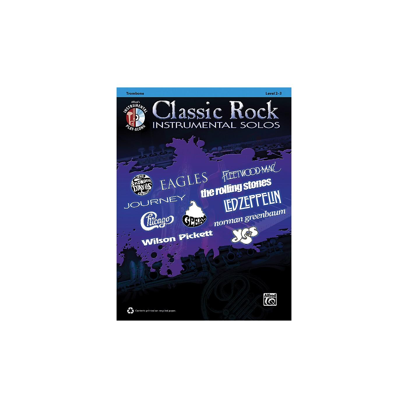 Alfred Classic Rock Instrumental Solos Trombone Book & CD thumbnail