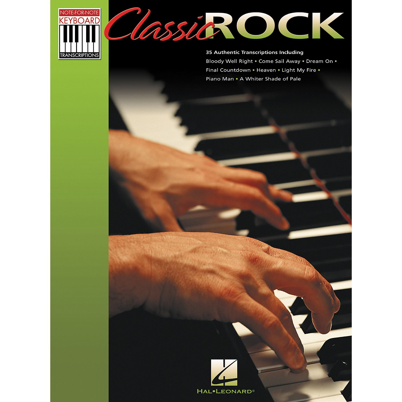 Hal Leonard Classic Rock Note for Note Keyboard Songbook thumbnail