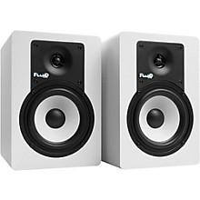 "Fluid Audio Classic Series C5 5"" Powered Studio Monitor - White (Pair)"