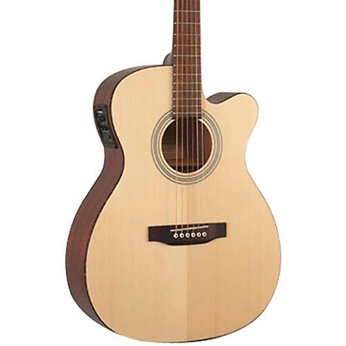 Recording King Classic Series OOO Cutaway Acoustic-Electric Guitar-thumbnail
