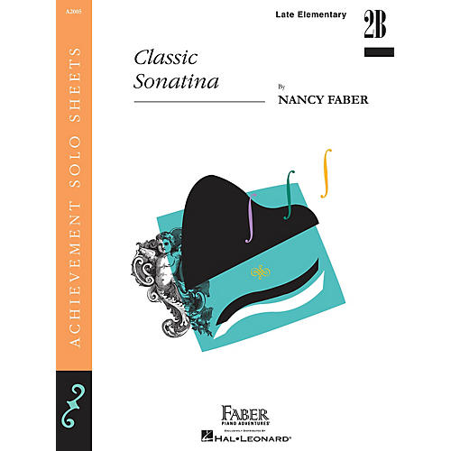 Faber Piano Adventures Classic Sonatina (Late Elem Level Piano Solos) Faber Piano Adventures Series by Nancy Faber thumbnail