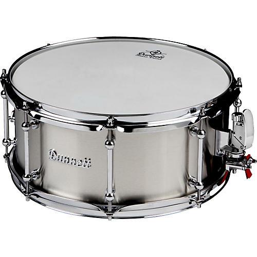 Dunnett Classic Stainless Steel Snare Drum-thumbnail