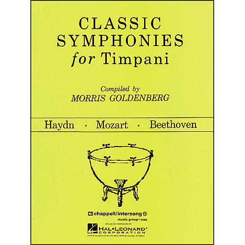 Hal Leonard Classic Symphonies for Timpani thumbnail
