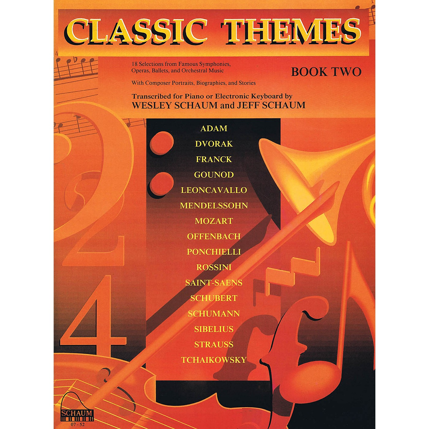 SCHAUM Classic Themes, Bk 2 Educational Piano Series Softcover thumbnail