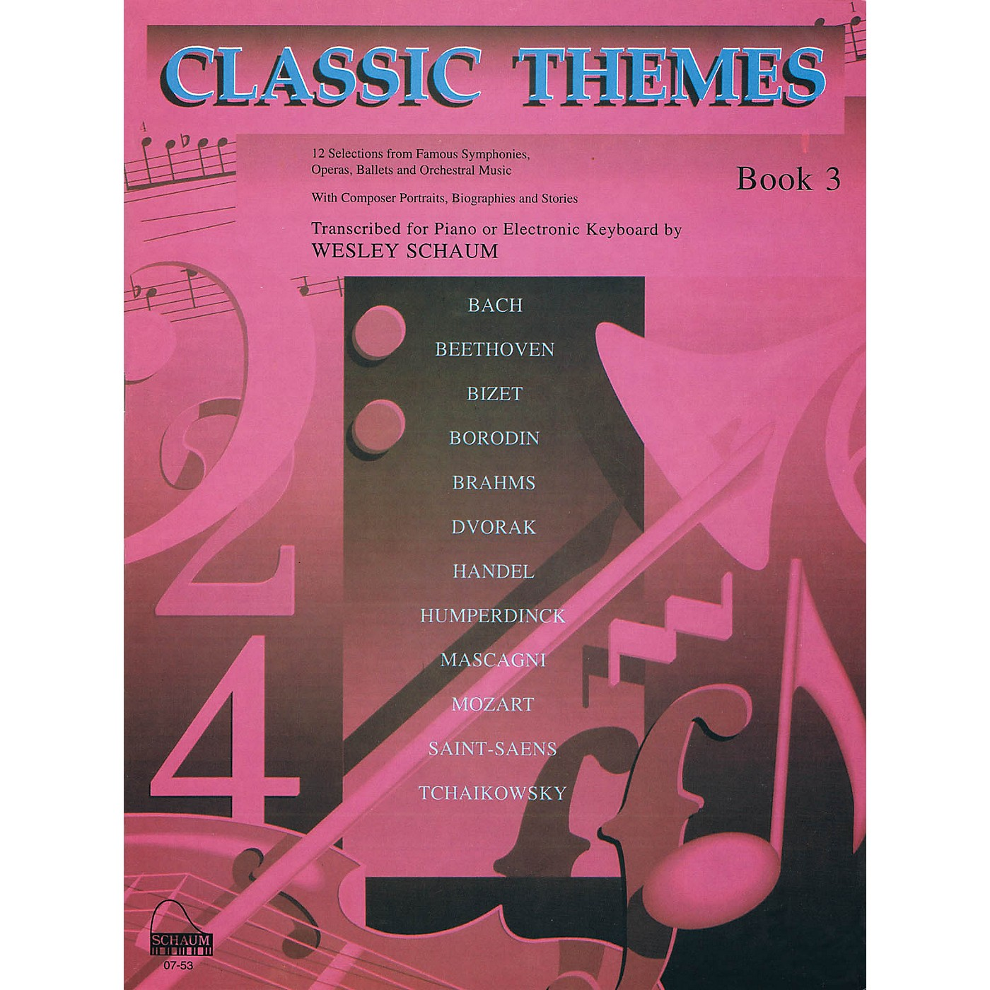 SCHAUM Classic Themes, Bk 3 Educational Piano Series Softcover thumbnail