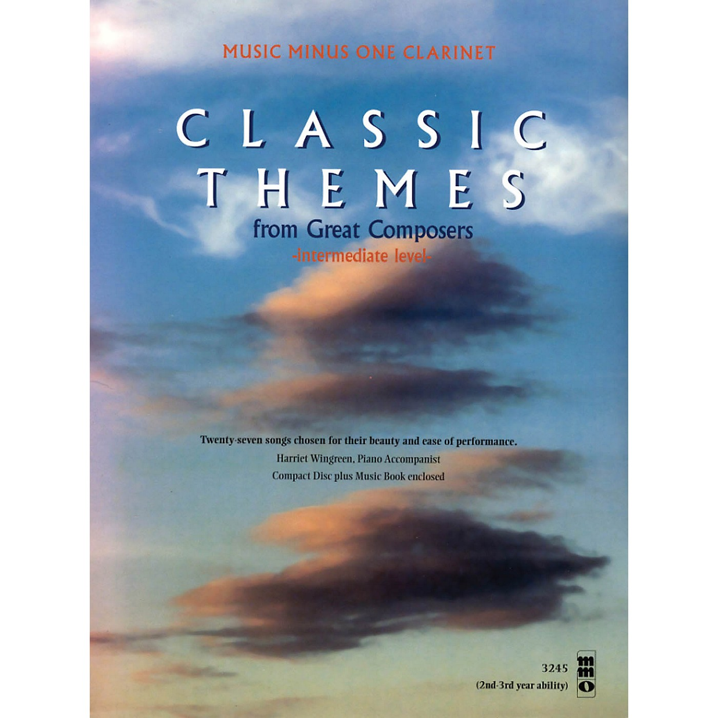 Music Minus One Classic Themes from Great Composers (Beginning Level) Music Minus One Series BK/CD thumbnail