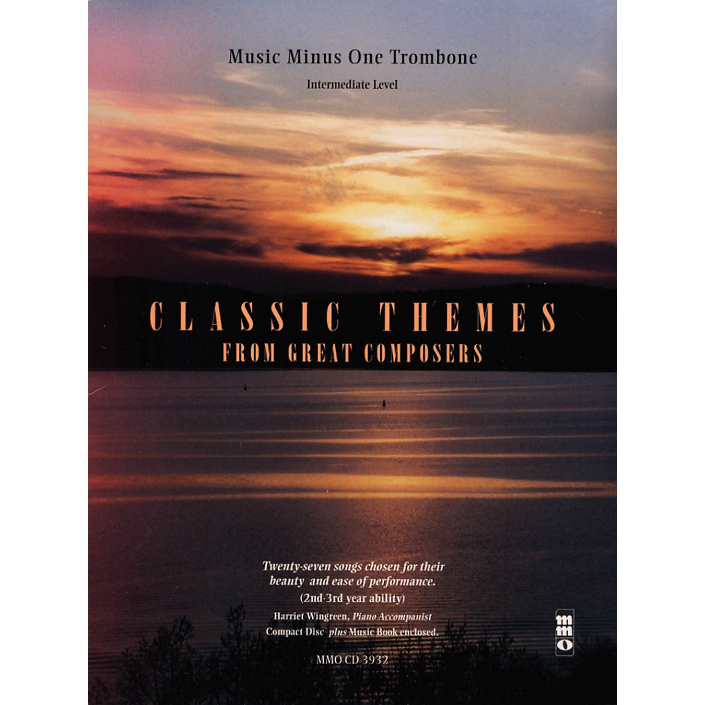 Music Minus One Classic Themes from Great Composers Music Minus One Series Softcover with CD Composed by Various thumbnail