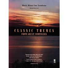 Music Minus One Classic Themes from Great Composers Music Minus One Series Softcover with CD Composed by Various
