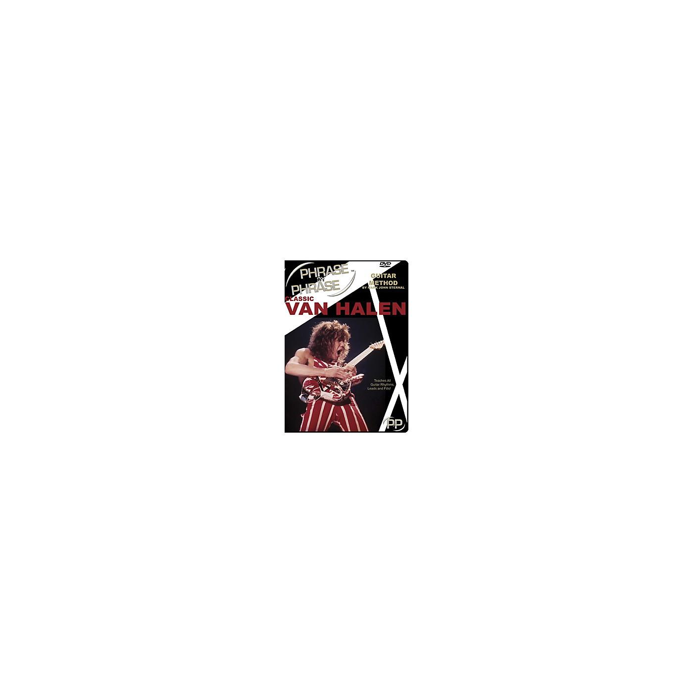 MJS Music Publications Classic Van Halen Phrase by Phrase Guitar Method (DVD) thumbnail