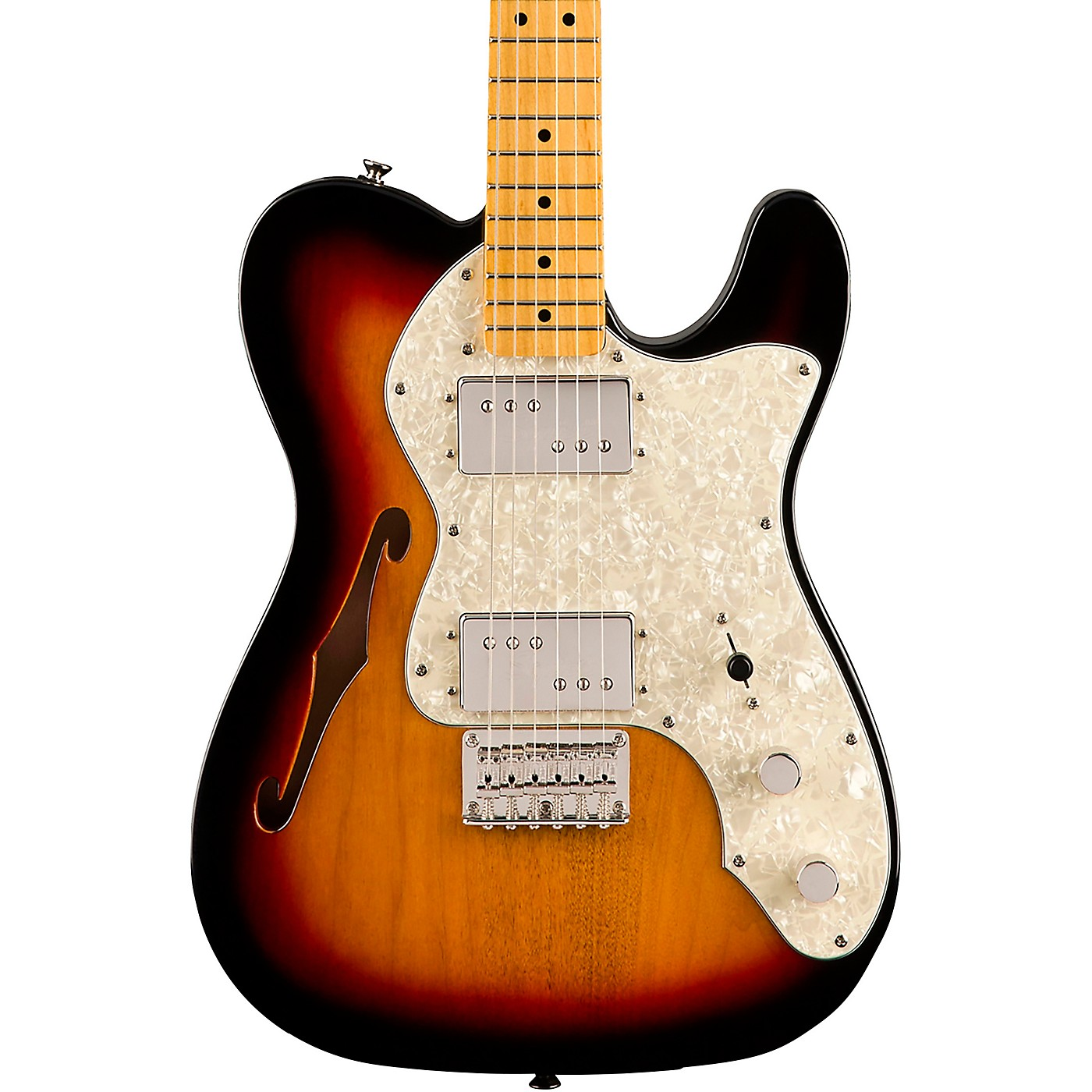 Squier Classic Vibe '70s Telecaster Thinline Maple Fingerboard Electric Guitar thumbnail