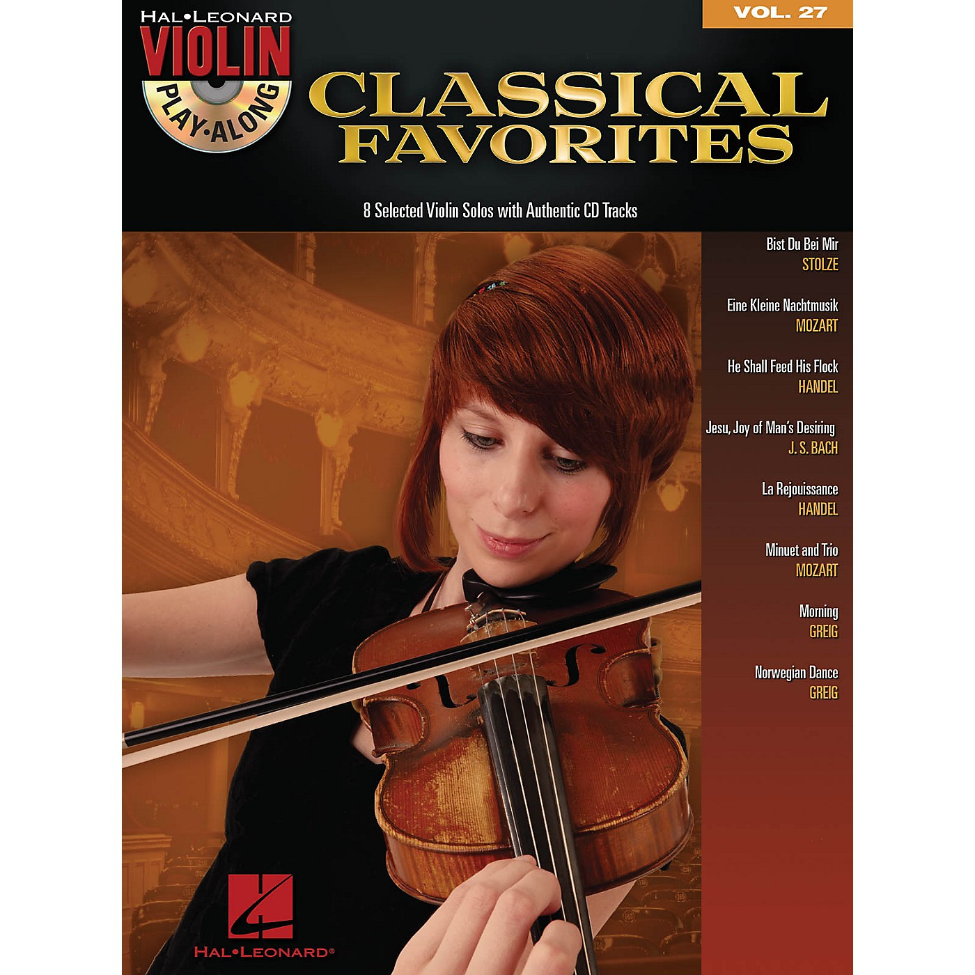 Hal Leonard Classical Favorites - Violin Play-Along Volume 27 Book/CD thumbnail