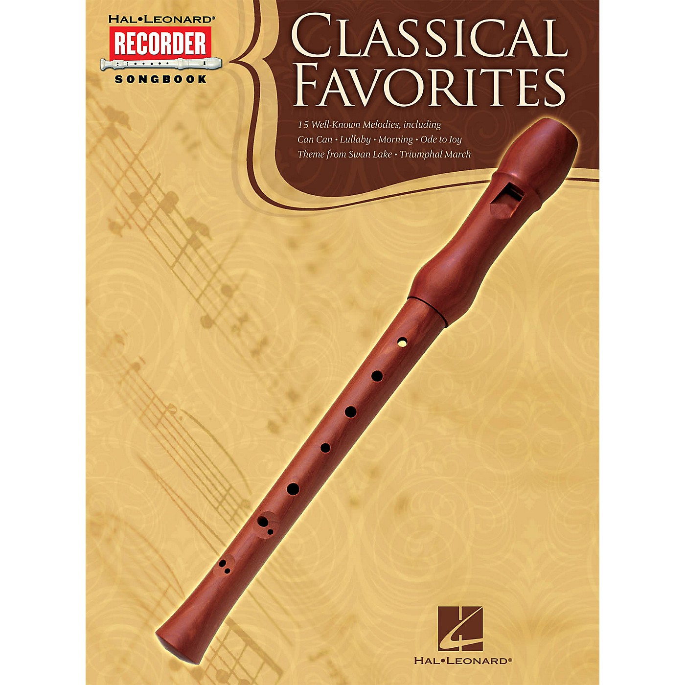 Hal Leonard Classical Favorites (Hal Leonard Recorder Songbook) Recorder Series Softcover thumbnail