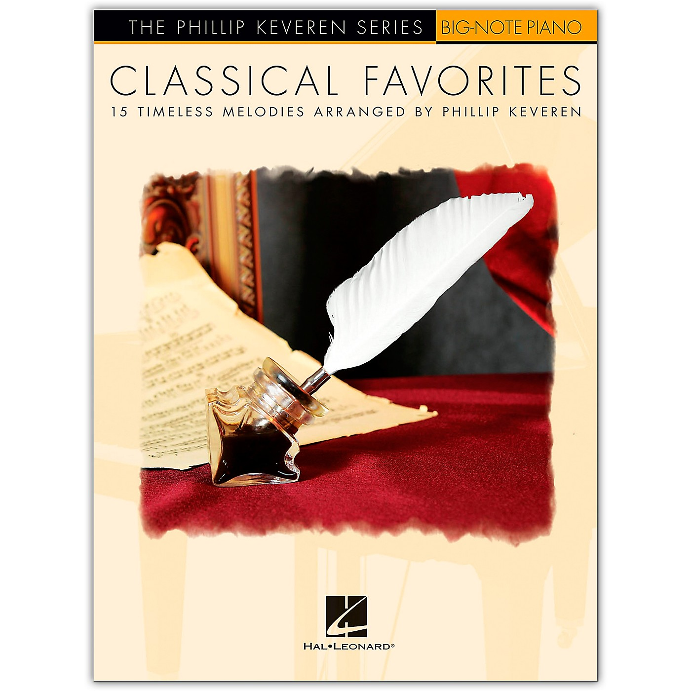Hal Leonard Classical Favorites for Big-Note Piano - The Phillip Keveren Series thumbnail