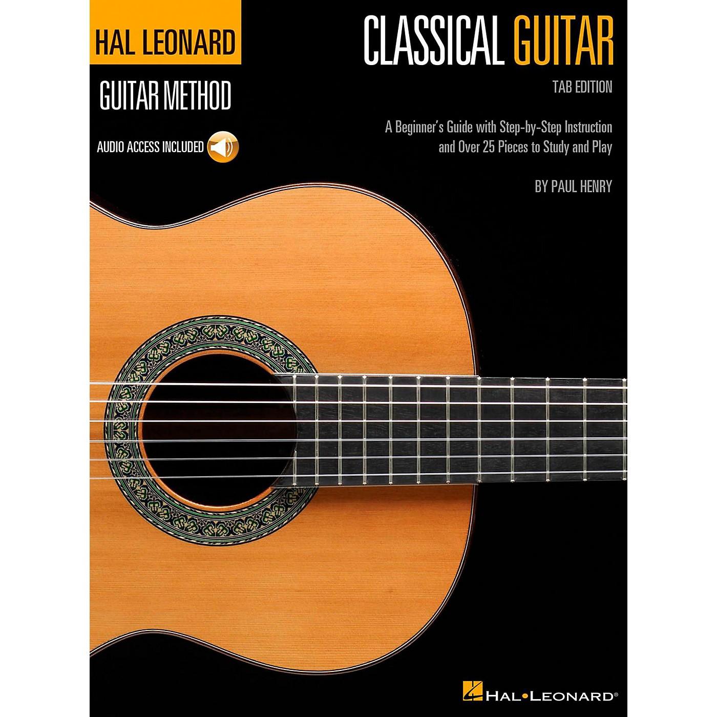 Hal Leonard Classical Guitar - Hal Leonard Guitar Method Series (Book/Online Audio) Tab Edition thumbnail