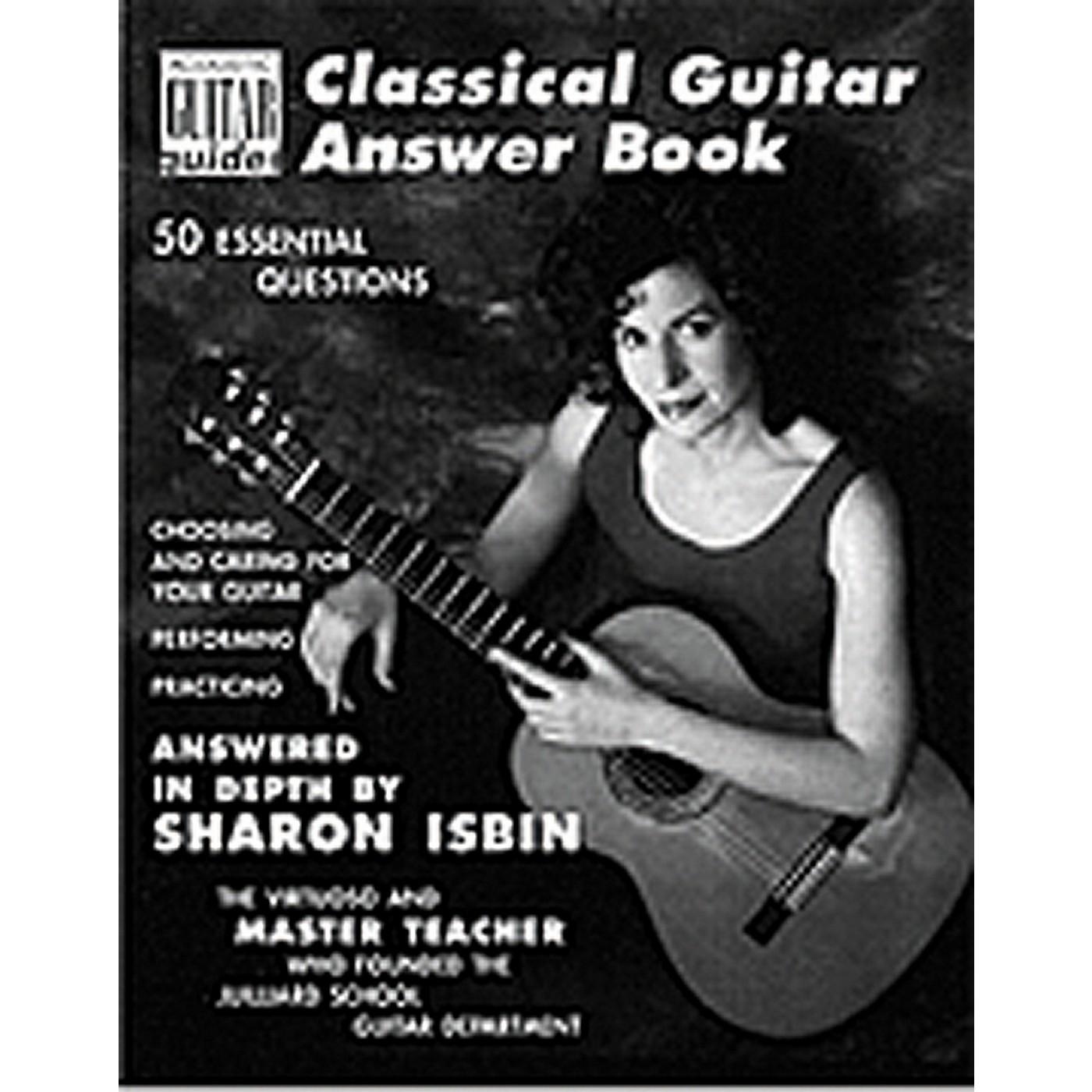 Hal Leonard Classical Guitar Answer Book thumbnail