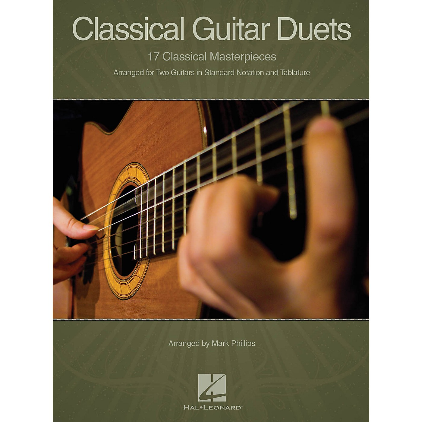 Hal Leonard Classical Guitar Duets (17 Classical Masterpieces) Guitar Collection Series Softcover thumbnail