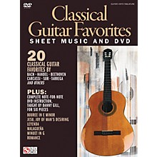 Cherry Lane Classical Guitar Favorites Book/DVD