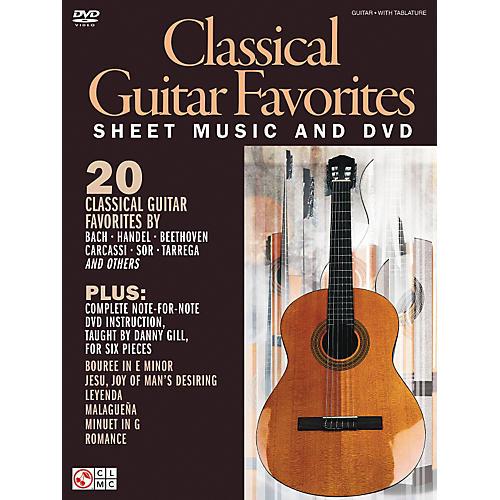 Cherry Lane Classical Guitar Favorites Book/DVD thumbnail