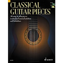 Schott Classical Guitar Pieces in Tab & Notation Book with CD