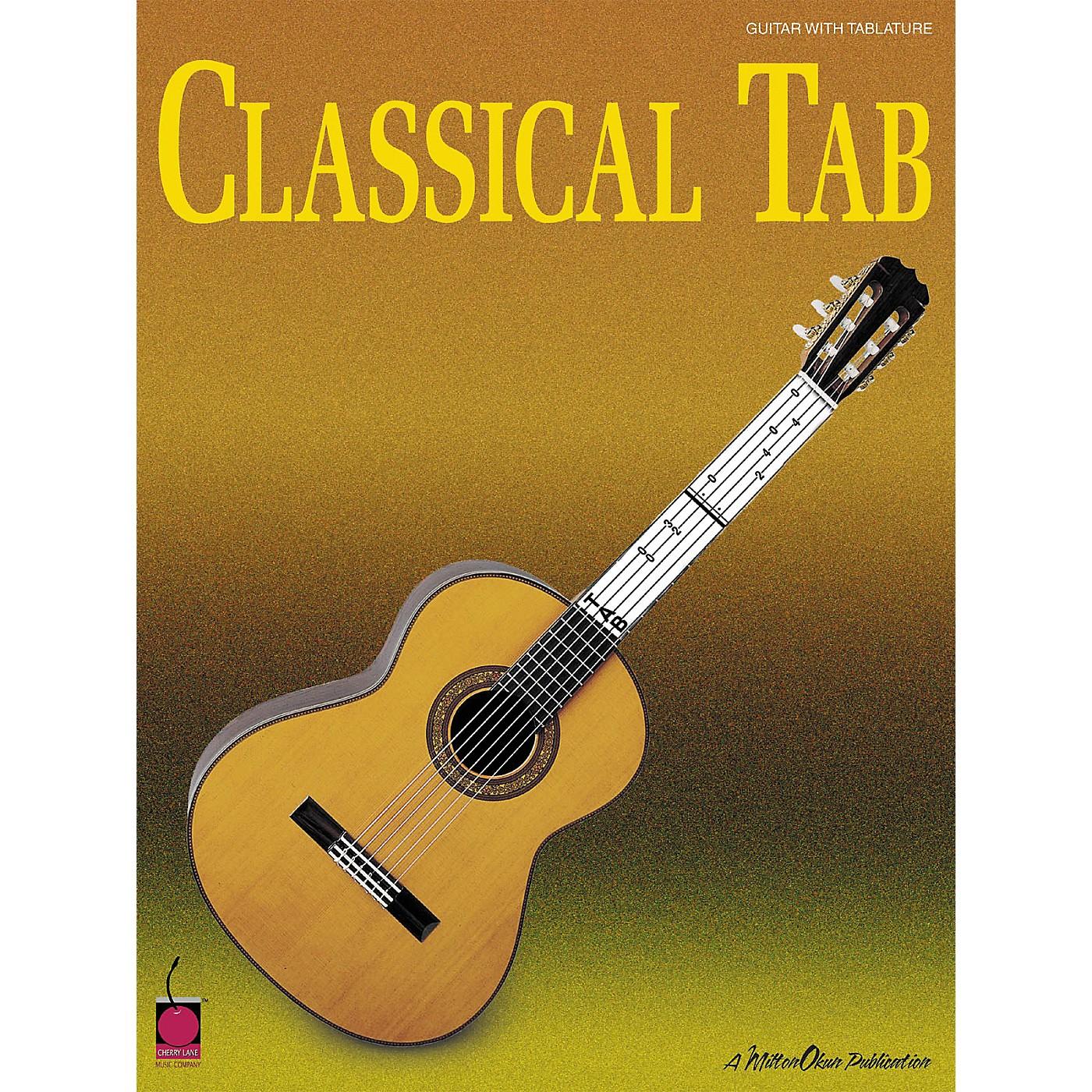 Cherry Lane Classical Guitar Tab Book thumbnail