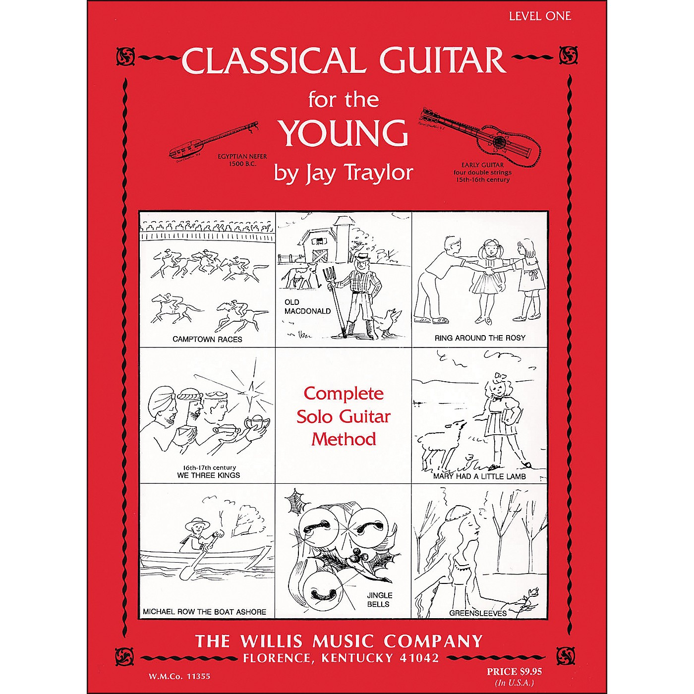 Willis Music Classical Guitar for The Young Level One thumbnail