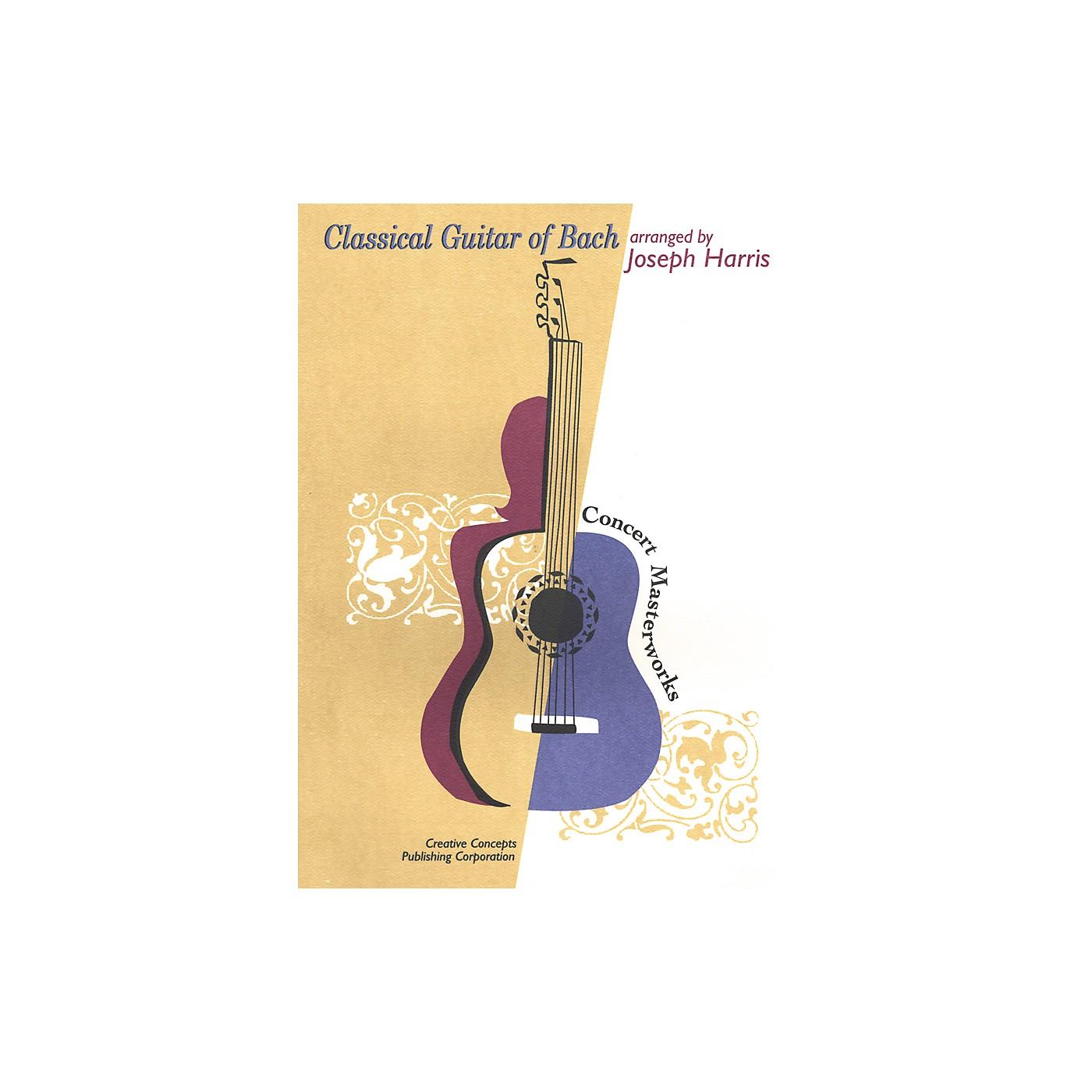 Creative Concepts Classical Guitar of Bach Book thumbnail