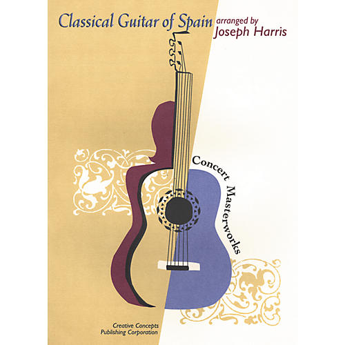 Creative Concepts Classical Guitar of Spain Book thumbnail