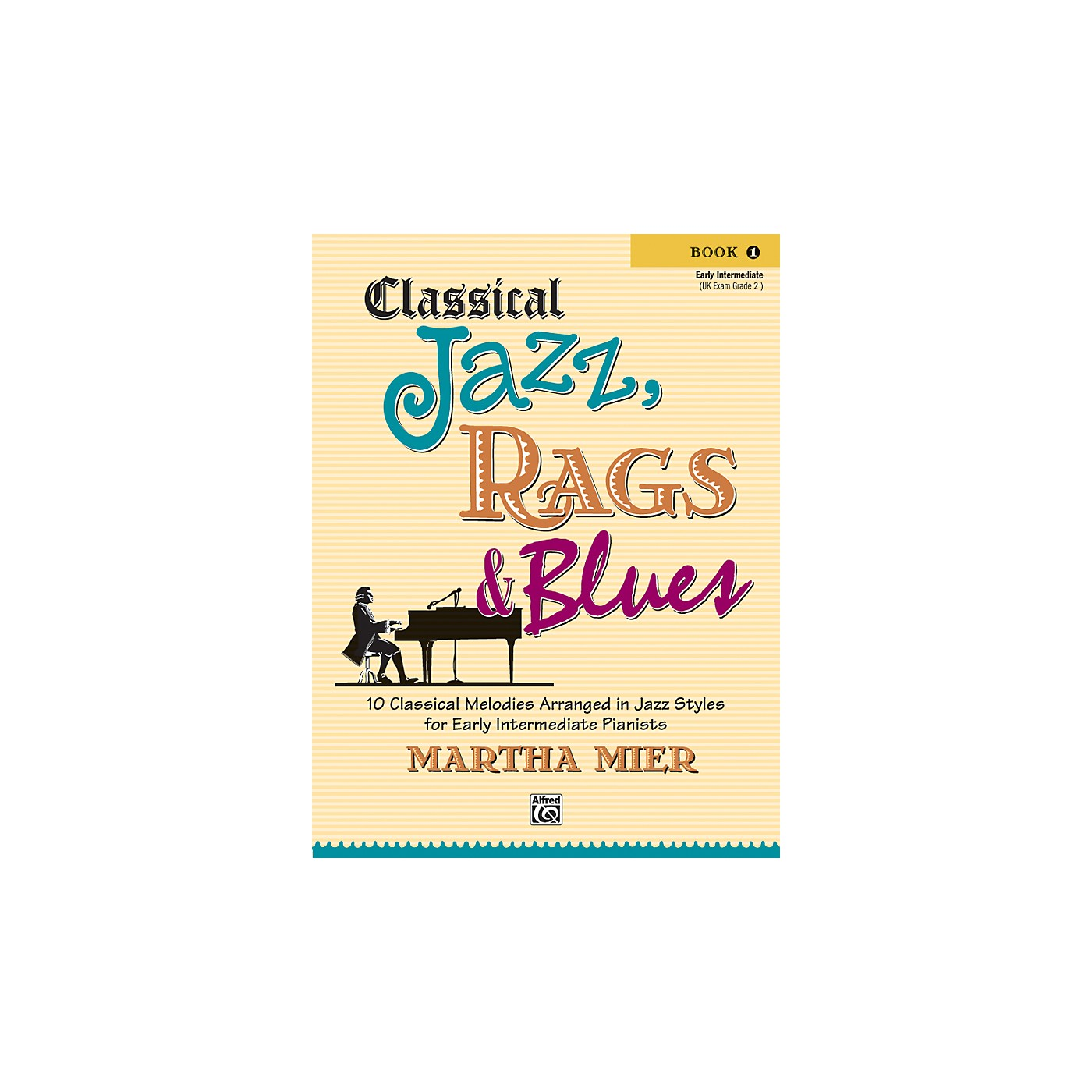 Alfred Classical Jazz Rags & Blues Book 1 Piano thumbnail