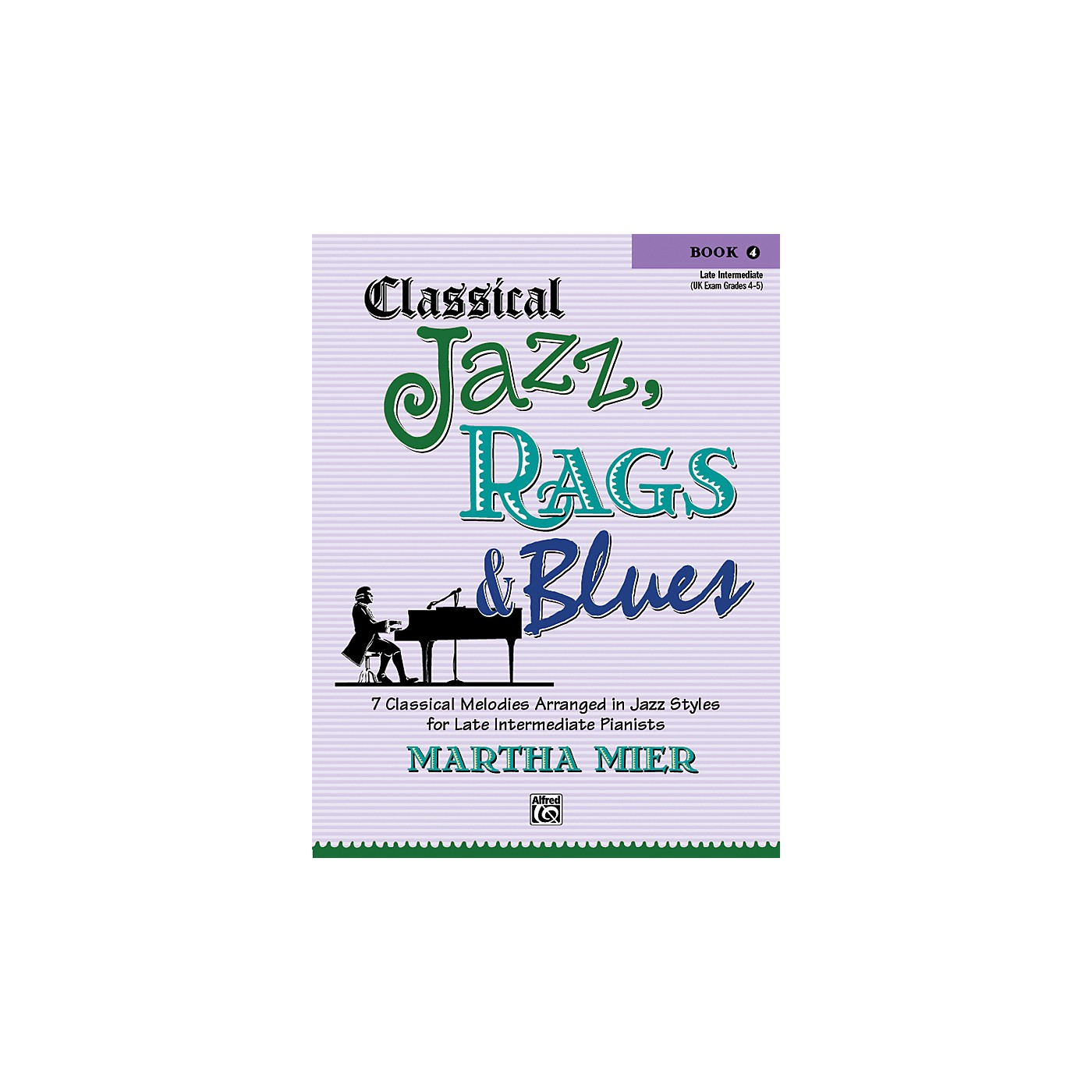 Alfred Classical Jazz Rags & Blues Book 4 Piano thumbnail