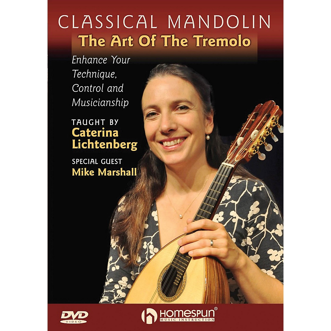 Homespun Classical Mandolin - The Art of the Tremelo Homespun Tapes Series DVD Performed by Caterina Lichtenberg thumbnail