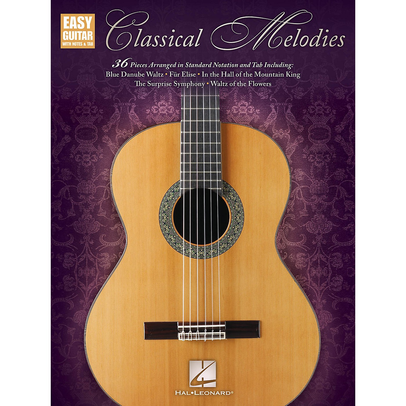 Hal Leonard Classical Melodies (Easy Guitar with Notes & Tab) Easy Guitar Series Softcover thumbnail
