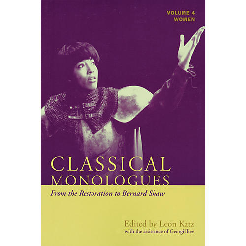 Applause Books Classical Monologues: Women Applause Books Series Softcover thumbnail