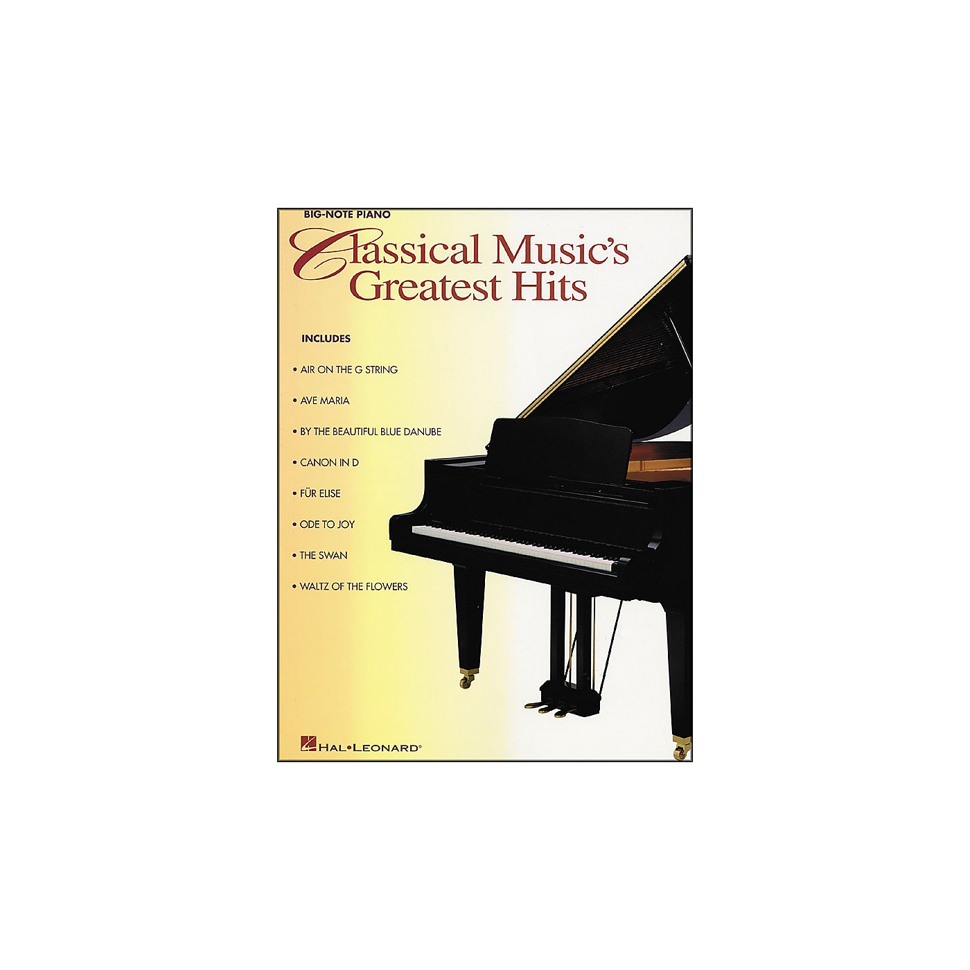 Hal Leonard Classical Music Greatest Hits for Big Note Piano thumbnail