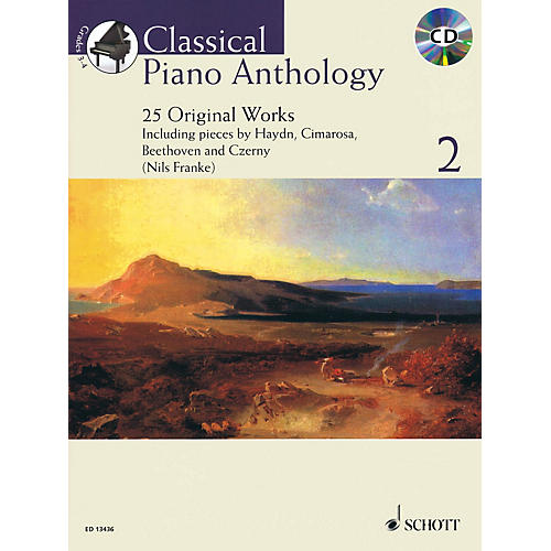 Schott Classical Piano Anthology, Vol. 2 Schott Softcover with CD Composed by Various Edited by Nils Franke thumbnail