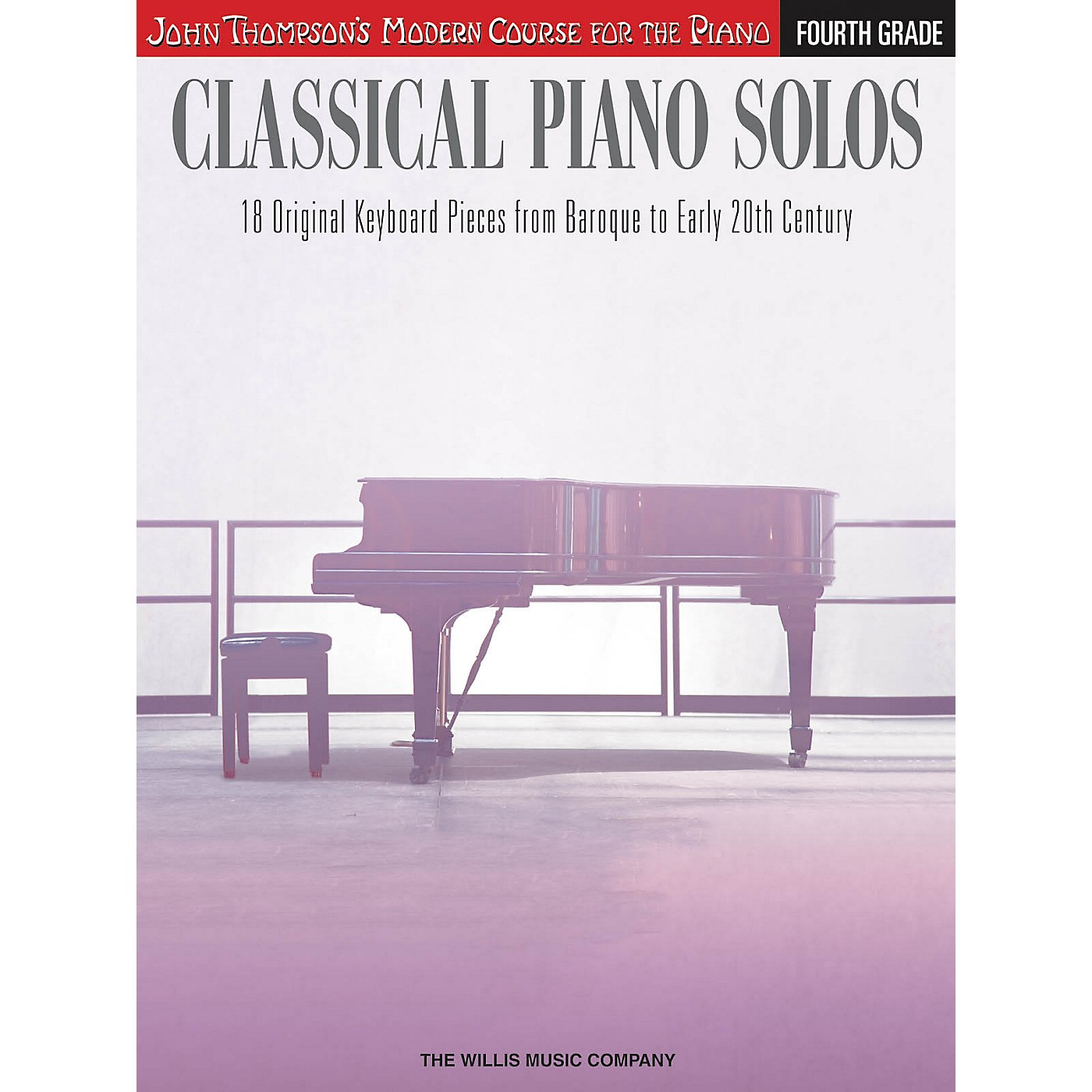 Willis Music Classical Piano Solos - Fourth Grade Willis Series Book by Various (Level Inter to Advanced) thumbnail