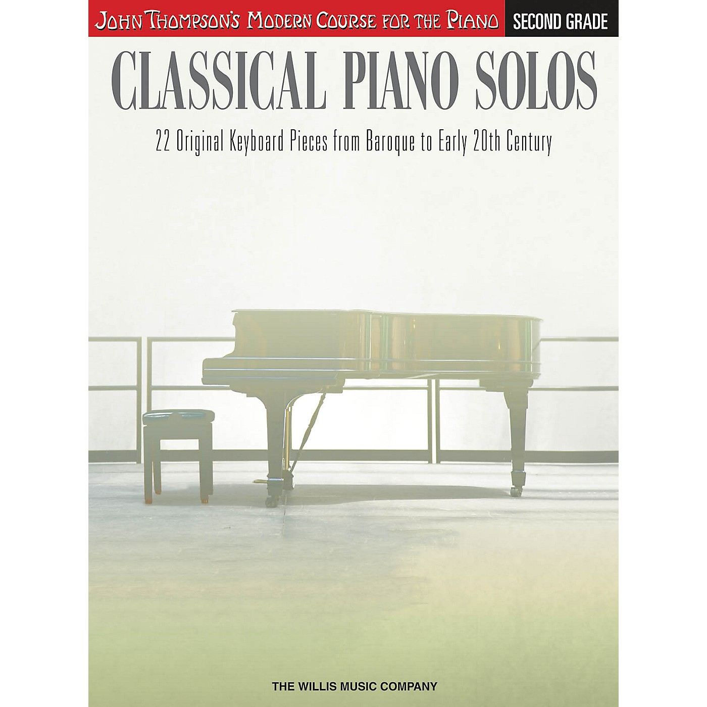 Willis Music Classical Piano Solos - Second Grade Willis Series Book by Various (Level Late Elem to Early Inter) thumbnail