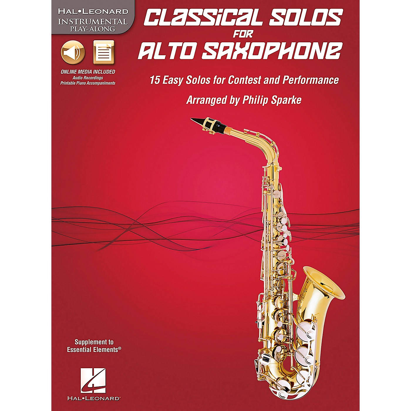 De Haske Music Classical Solos - 15 Easy Solos for Contest and Performance Book/CD thumbnail
