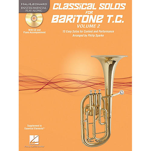 Hal Leonard Classical Solos for Baritone T.C., Vol. 2 Instrumental Folio Series Softcover with CD thumbnail