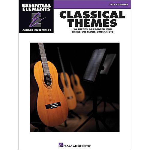 Hal Leonard Classical Themes - Essential Elements Guitar Ensembles thumbnail
