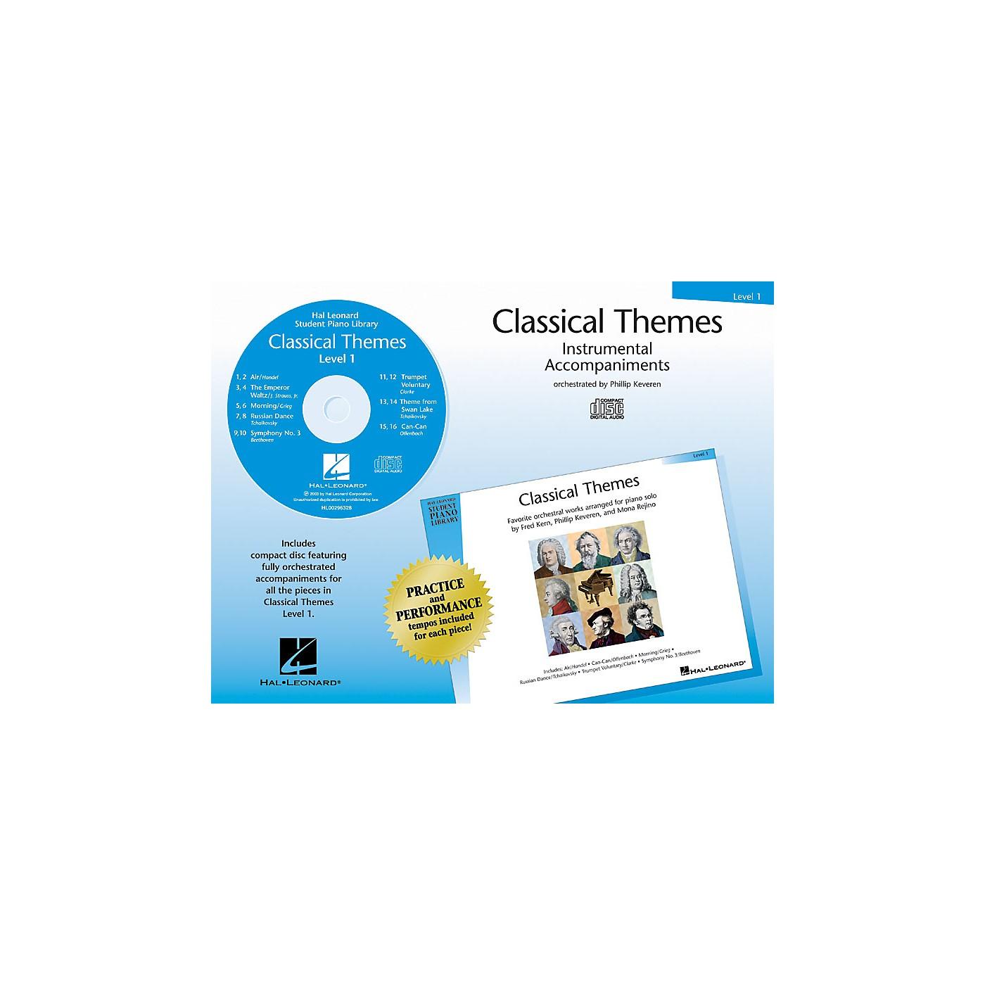 Hal Leonard Classical Themes - Level 1 (Hal Leonard Student Piano Library) Piano Library Series CD thumbnail