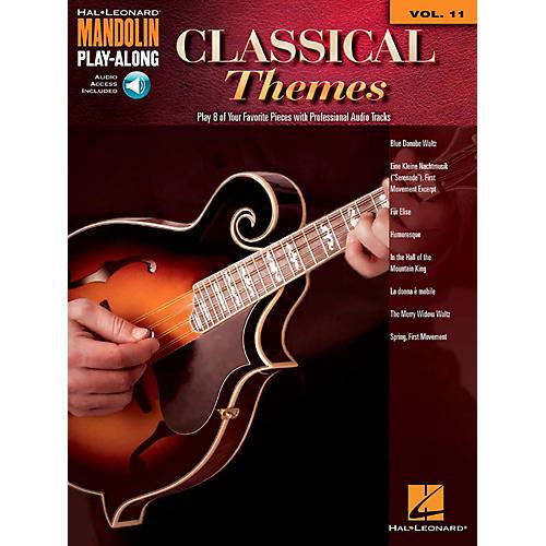 Hal Leonard Classical Themes - Mandolin Play-Along Vol. 11 (Book/Audio Online) thumbnail