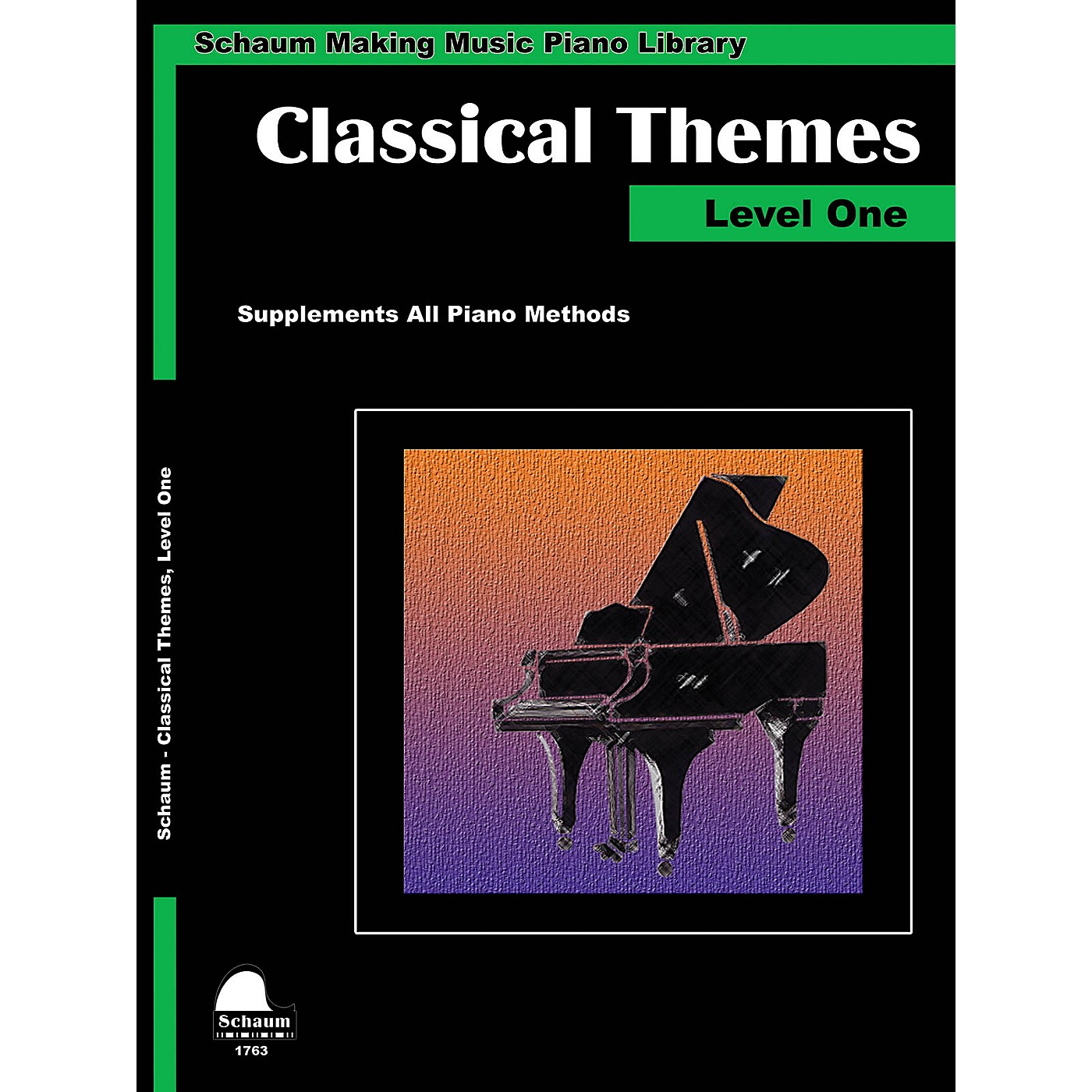 SCHAUM Classical Themes Level 1 (Schaum Making Music Piano Library) Educational Piano Book (Level Elem) thumbnail
