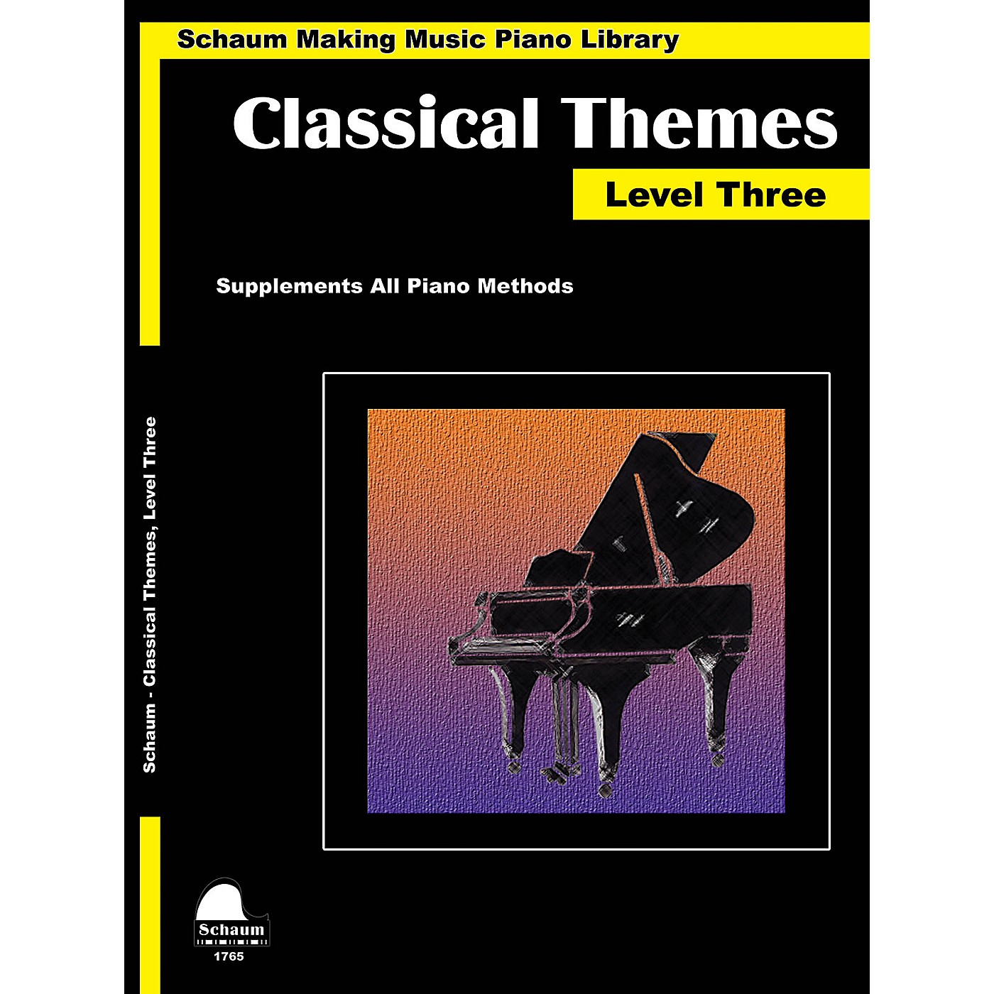 SCHAUM Classical Themes Level 3 (Schaum Making Music Piano Library) Educational Piano Book (Level Early Inter) thumbnail