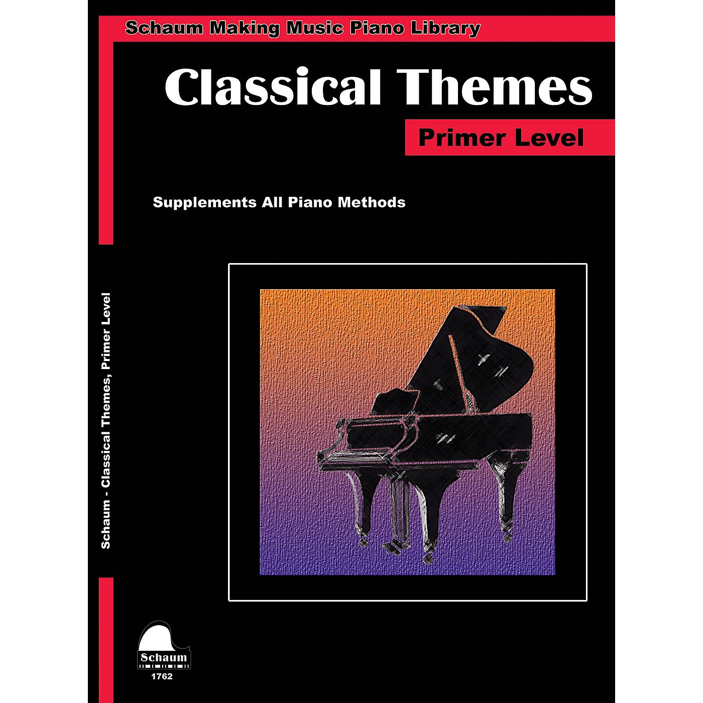 SCHAUM Classical Themes Primer Level (Schaum Making Music Piano Library) Piano Book (Level Early Elem) thumbnail